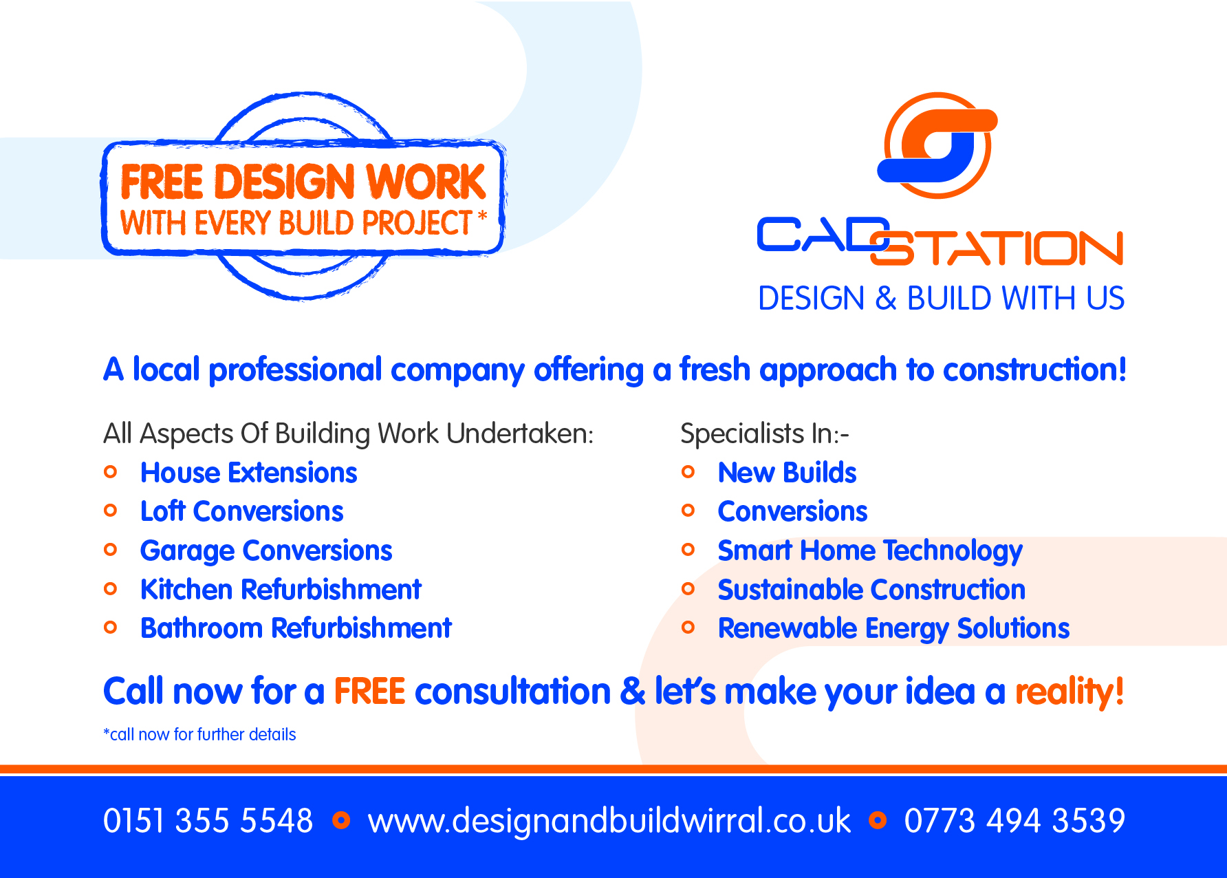 Cadstation Ltd – Design and Build Wirral